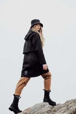 Lyn coat new black