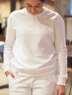 Talastic casual sweat white