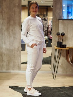 Techill casual pant white
