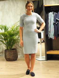 Deshape dress pastel blue