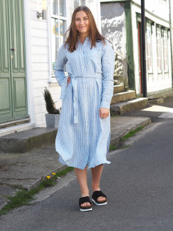 Camona dress bright blue