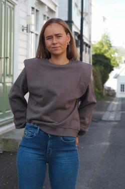Comfy Hella sweatshirt major brown