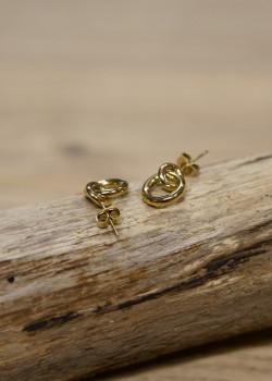 Horizon earring gold