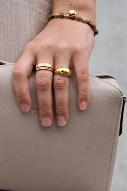 Beverly bracelet jasper gold