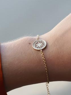 Karma bracelett gold