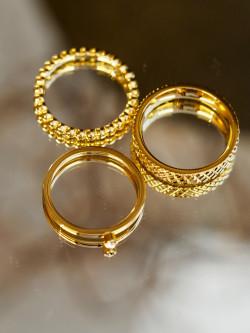 Brook ring gold