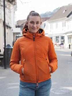 Parisa hooded orange