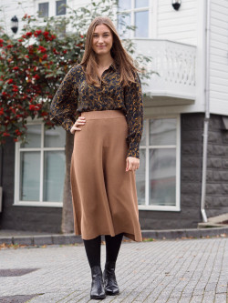 Celina skirt brown sugar