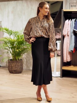Paja skirt black