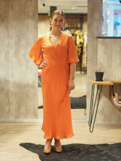 Lia dress emberglow