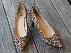 Suede leopard