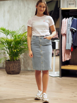 Nanna denim skirt