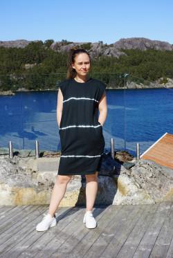 Beijing dress tiedye