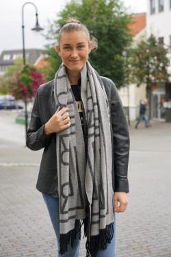 Katelyn scarf grey