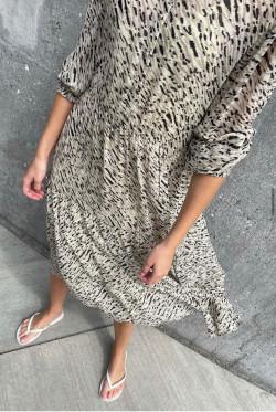 Osa 1 dress beige
