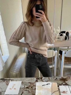 Lykke 1 pullover nude