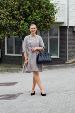 Manuela 1 dress grey