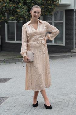 Luna 1 dress warm beige