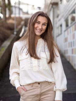 Isadora2 blouse cream