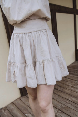darcy skirt marble