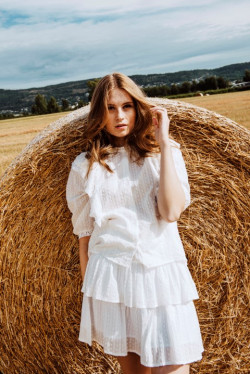 Silje blouse cream