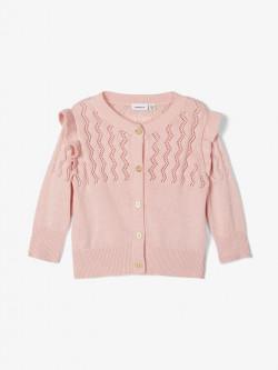 NBF Fonamin knit cardigan peachskin