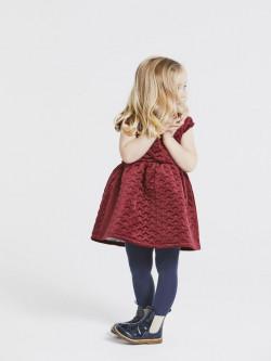 NMF Rogille vel dress cabernet