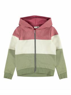 NKF Bullan hoodie deep linchen green