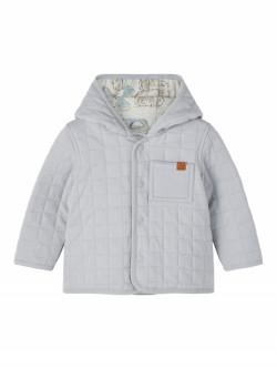 NBM Marlin quilt jacket dusty blue