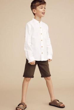 NKM Fish shirt bright white