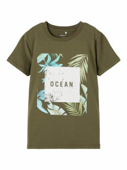 NKM facer top ivy green