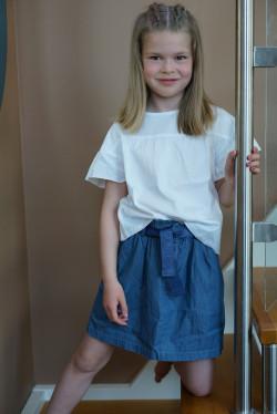NKF Becky skirt medium blue