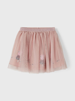 NMF Peppepig cilla tulle skirt pale mauve