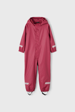 NMM Dry rain suit racoon earth red