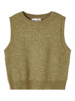 NMF napuf knit slipover stone gray