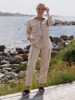 Una jumpsuit beige
