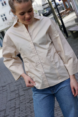 Emma shirt beige