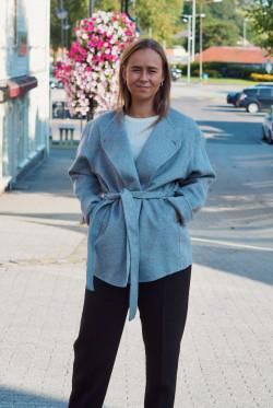 Mulan wool jacket grey