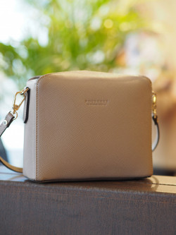 Grainys s convertible clutch beige