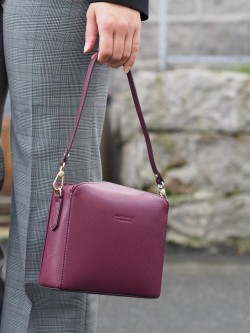 Grainys s convertible clutch bordeaux
