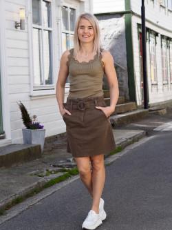 Roberta skirt Army