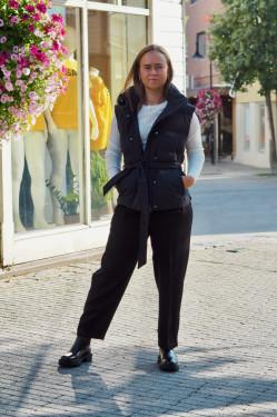 Vestby vest onyx