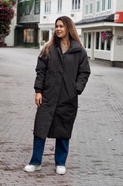 Zenit coat dark olive