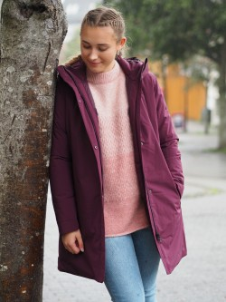 Woman coat heather